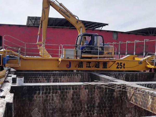 宝威起重为宁夏天元锰业提供起重机案例