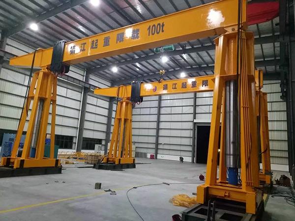100吨大型龙门吊