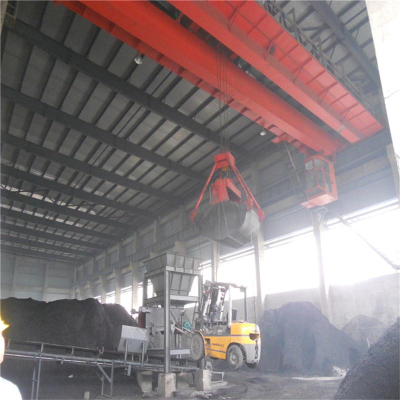 QZ型煤炭行业专用抓斗桥式起重机
