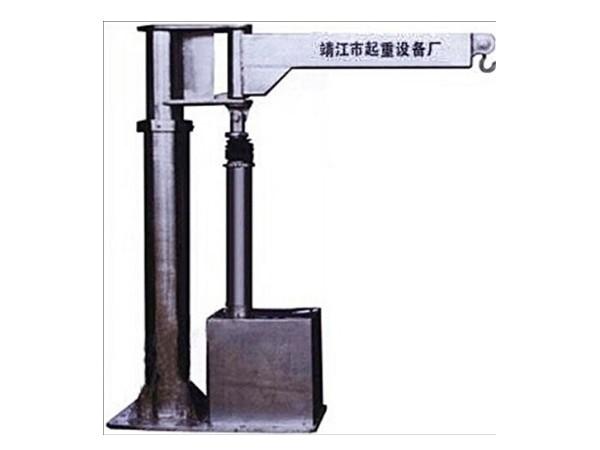 不锈钢电动推杆旋臂起重机