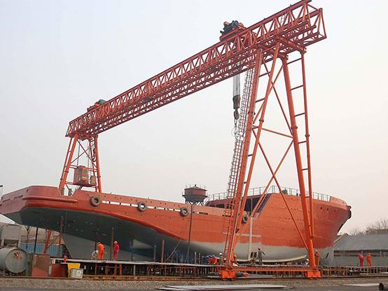 造船行业起重机——江苏宝威起重