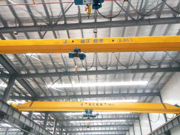桥式起重机的基本组成部分及其正确选配和使用