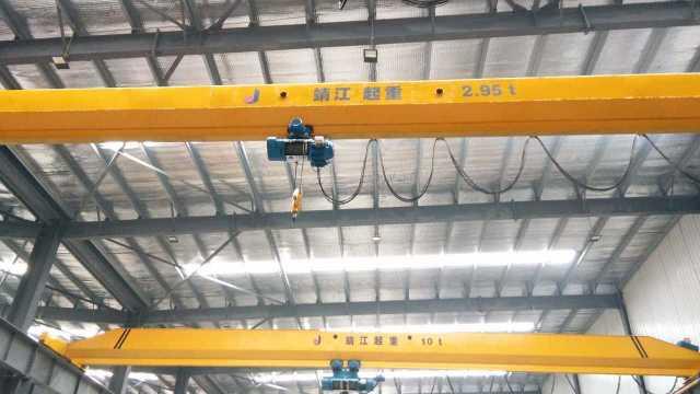 桥式起重机减速器的安装方式和细节描述