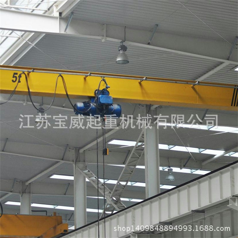 江苏宝威起重-桥式起重机在汽车制造中的应用