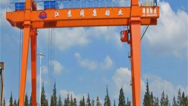 谨慎操作大型龙门起重机,保证施工的安全【宝威】