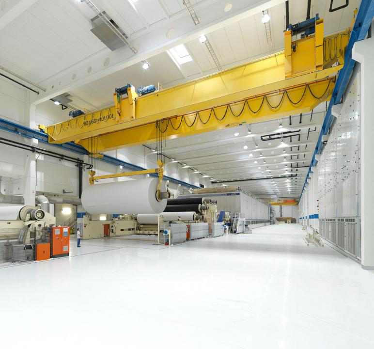江苏宝威起重-纸浆造纸行业起重机