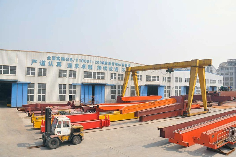 江苏宝威起重机械生产场地