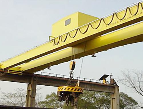电磁桥式起重机QC型(双梁)