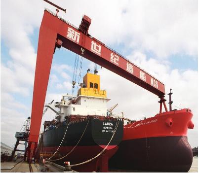 江苏宝威起重-大吨位造船龙门起重机